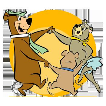 Yogi, Cindy & Boo Boo Dancing