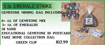 Emerald Strike Bag