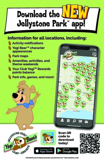 Jellystone Park App