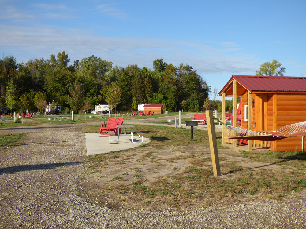 Premium Campsite Family Full Hookup | Yogi Bear's Jellystone Park™ Camp-Resort | South Haven, MI