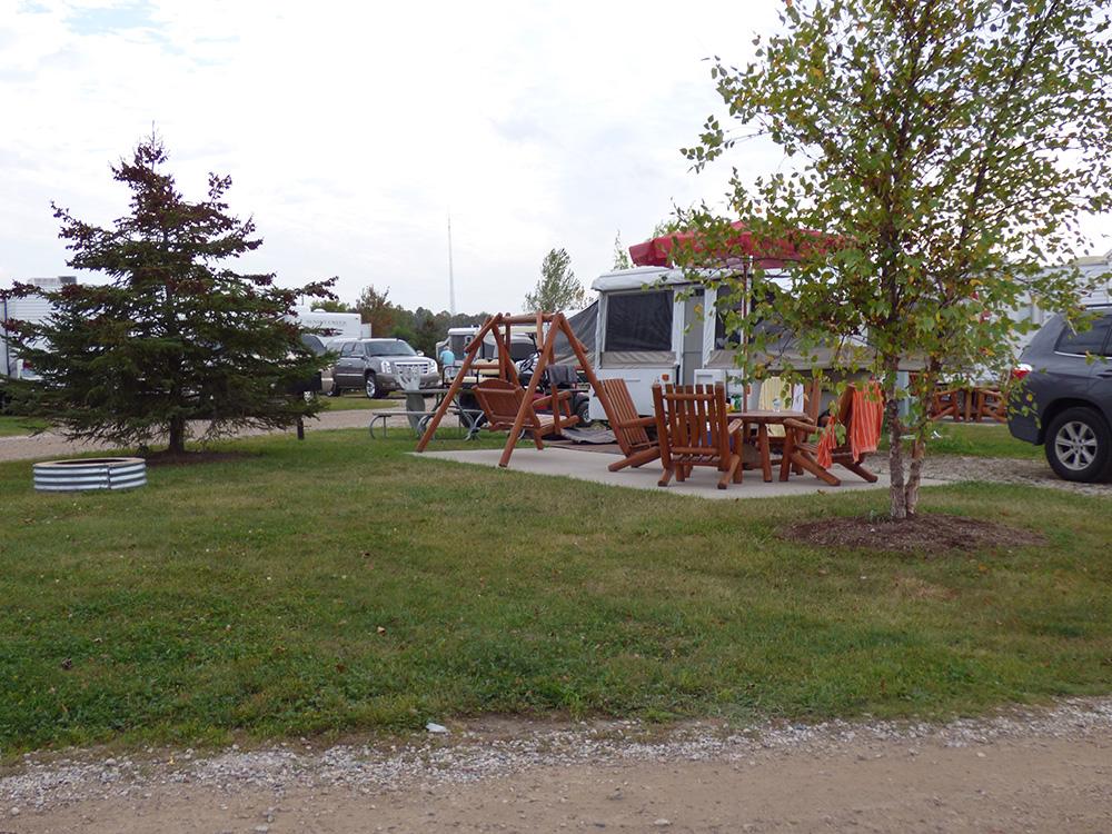Premium Campsite with Water & Electric | Yogi Bear's Jellystone Park™ Camp-Resort | South Haven, MI