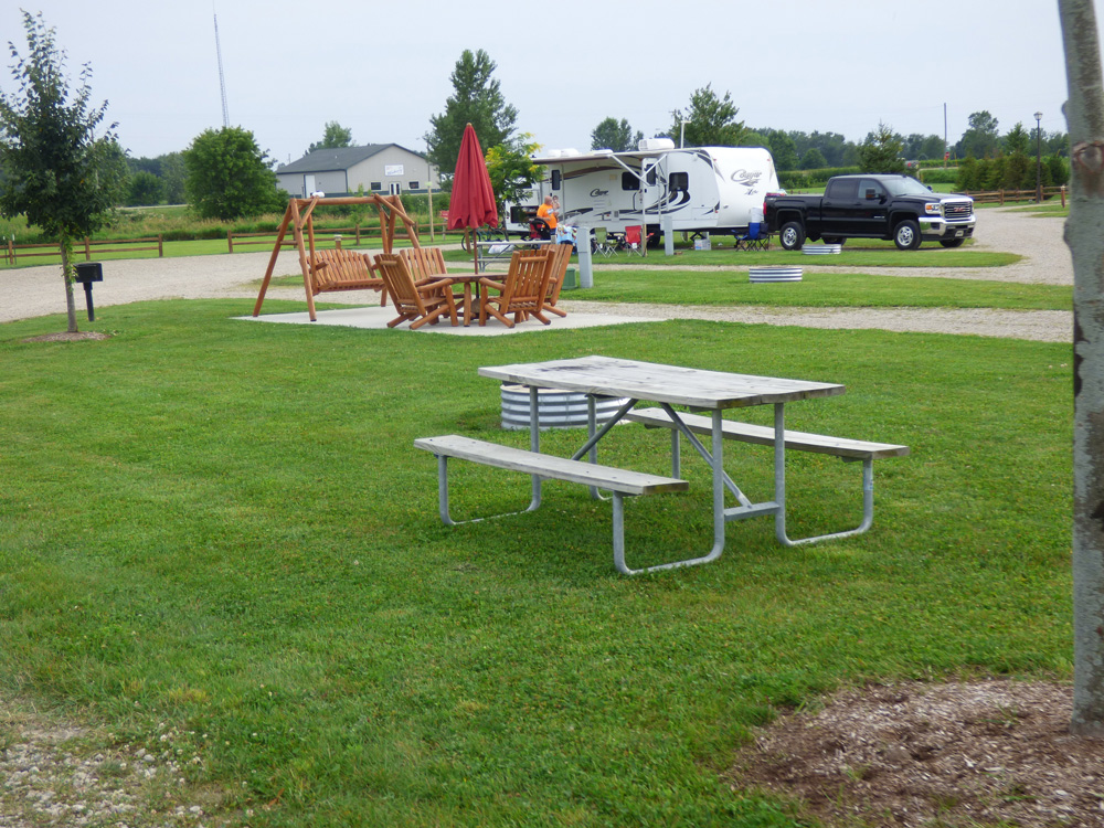 Premium Campsite with Water & Electric | Yogi Bear's Jellystone Park™ Camp-Resort | South Haven, MI