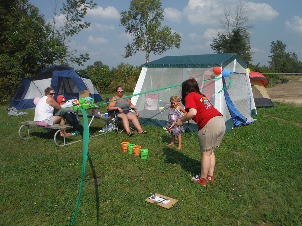 Tent Camp Site | Yogi Bear's Jellystone Park™ Camp-Resort | South Haven, MI