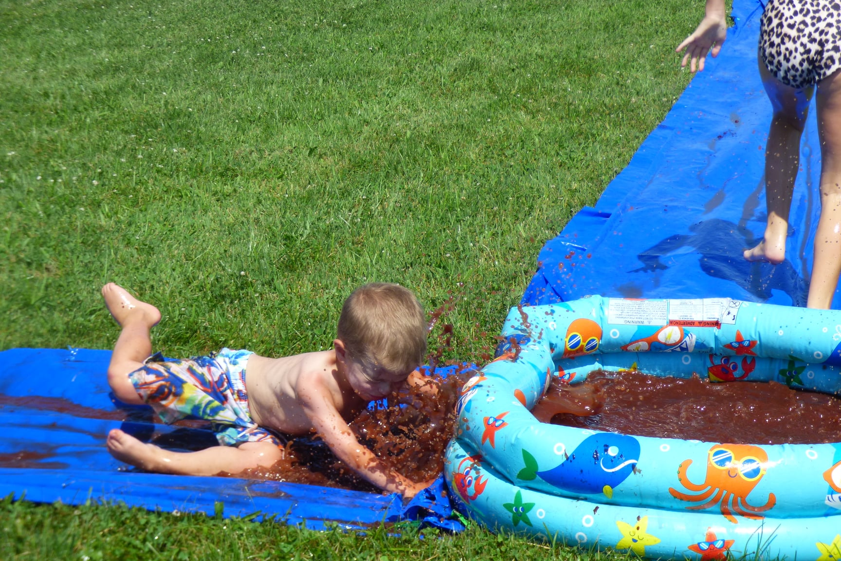 Chocolate Slip 'n Slide
