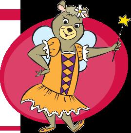 Cindy Bear Toothe Fairy