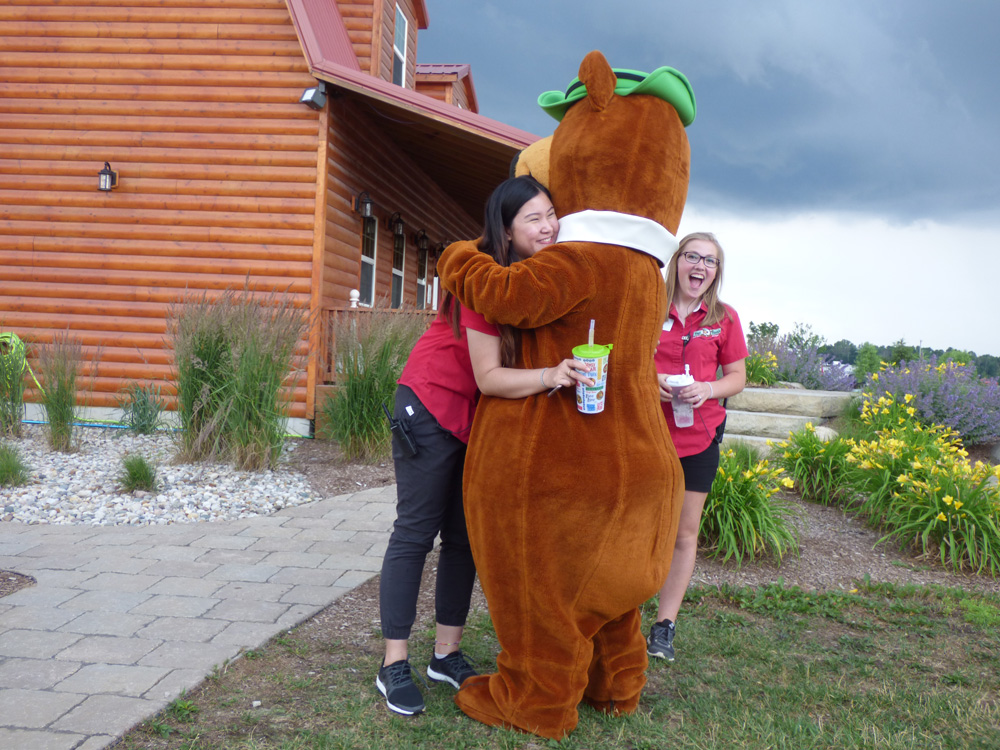 Employees With Yogi | Yogi Bear's Jellystone Park™ Camp-Resort | South Haven, MI