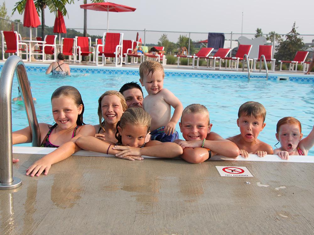 Family Fun In Pool | Yogi Bear's Jellystone Park™ Camp-Resort | South Haven, MI