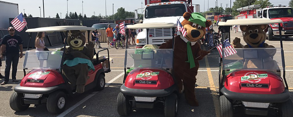 Golf Carts | Yogi Bear's Jellystone Park™ Camp-Resort | South Haven, MI
