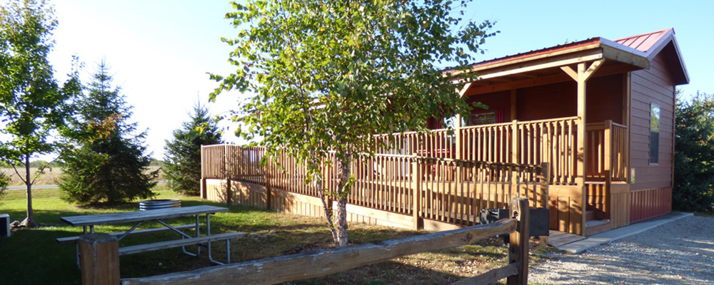 ADA Cottage | Yogi Bear's Jellystone Park™ Camp-Resort | South Haven, MI