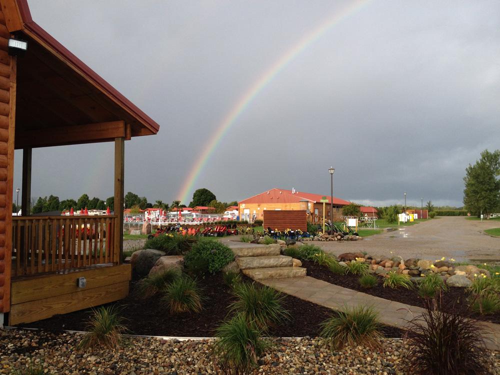 Rainbow Over Campground | Yogi Bear's Jellystone Park™ Camp-Resort | South Haven, MI