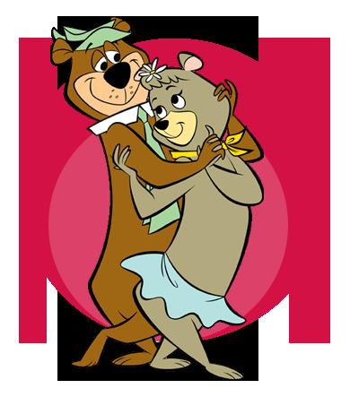 Cindy & Yogi Bear
