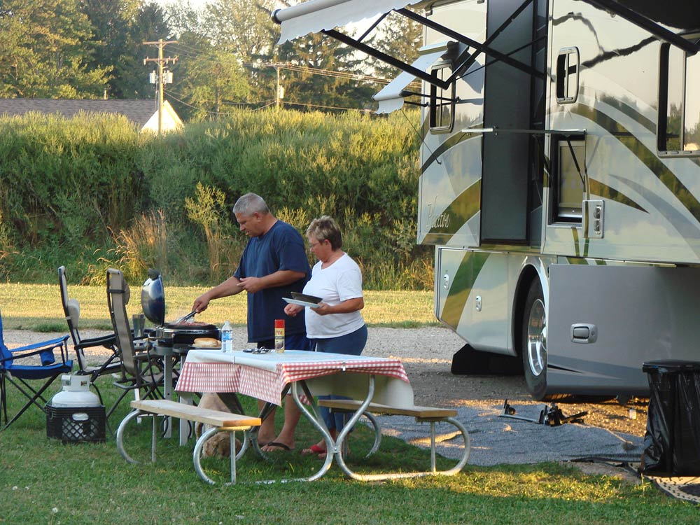 Upper Peninsula Michigan Camping Campgrounds