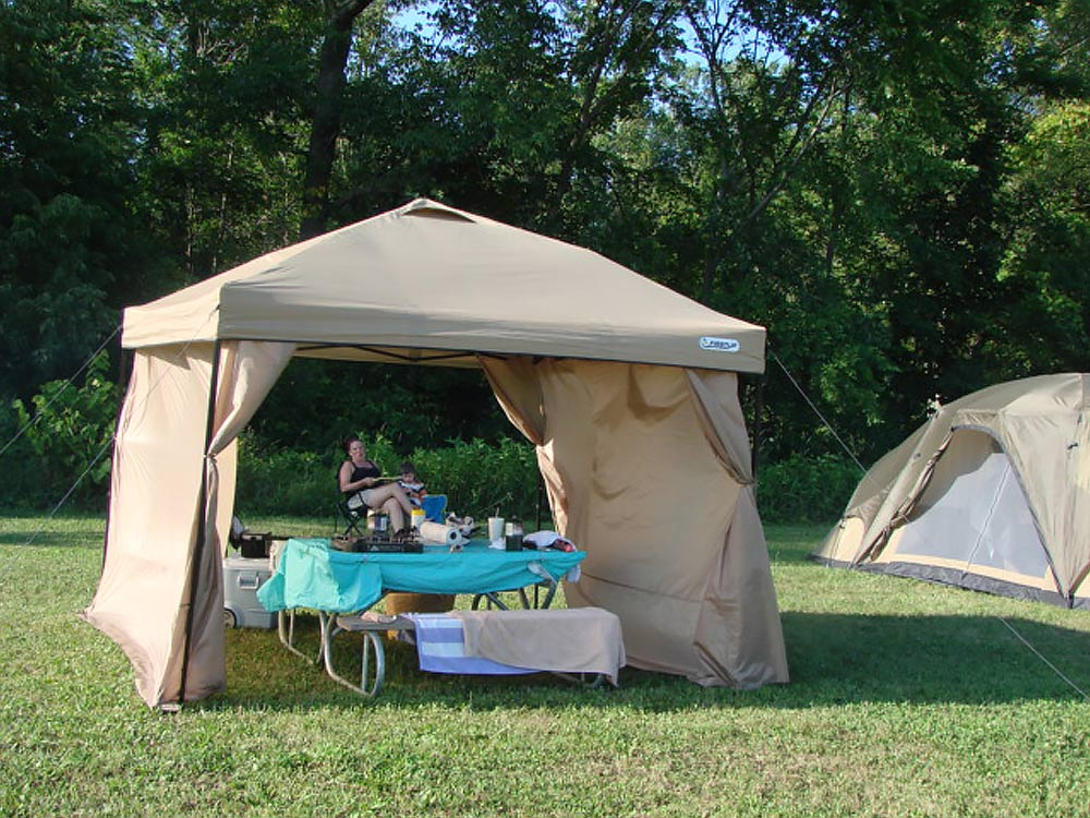 Primitive Tent Site