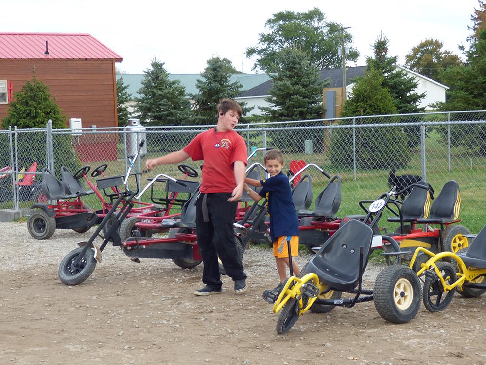 Pedal Kids Corral   Yogi Bear's Jellystone Park™ Camp-Resort   South Haven, MI
