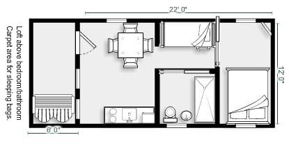 Ranger Smith Cottage Plan
