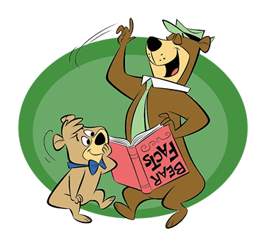 Reading Yogi & Boo Boo | Yogi Bear's Jellystone Park™ Camp-Resort | South Haven, MI