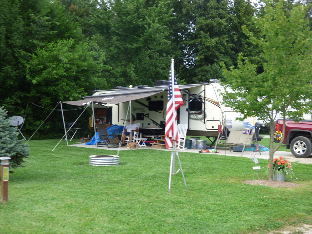 Season Stay Site | Yogi Bear's Jellystone Park™ Camp-Resort | South Haven, MI
