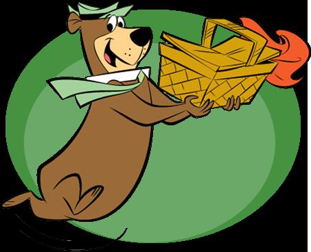 Yogi Bear Basket Delivery