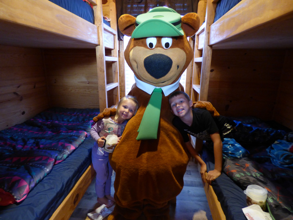Yogi Bear Wake Up Visit