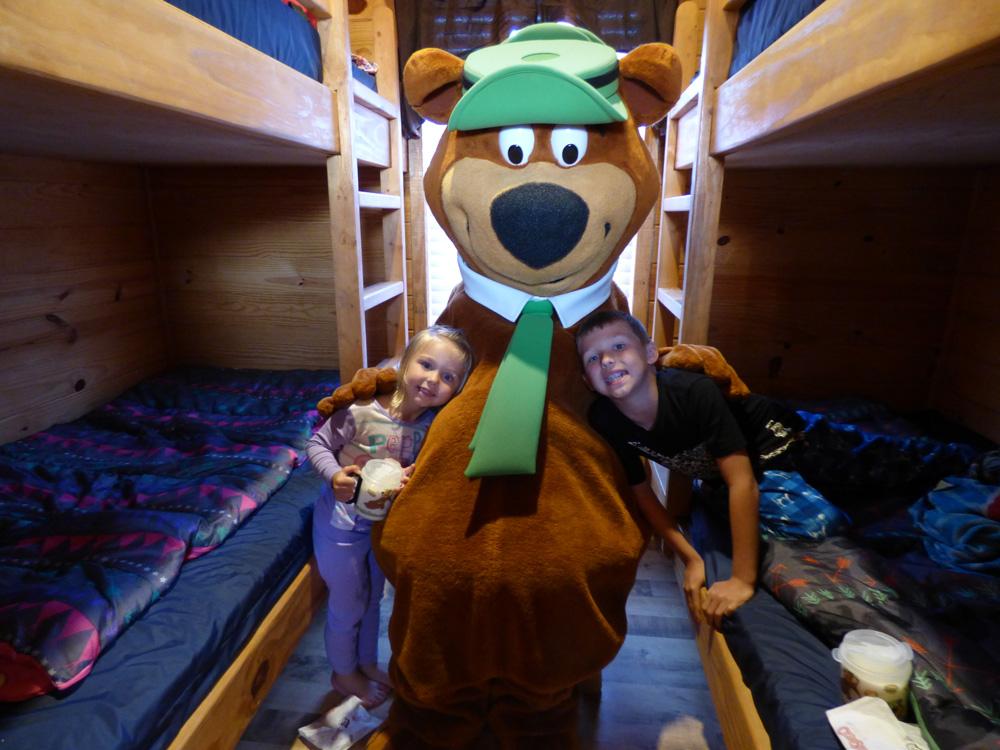Yogi Bear Wake Up Visit
