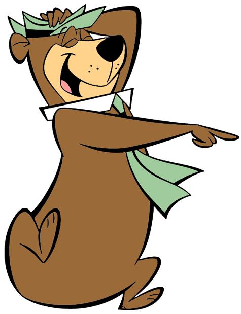 Yogi Bear Laughing