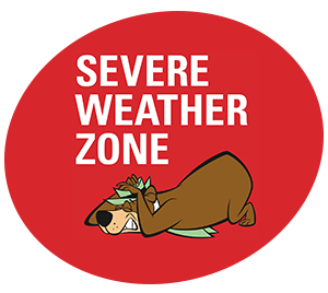 Severe Weather Zone | Yogi Bear's Jellystone Park™ Camp-Resort | South Haven, MI