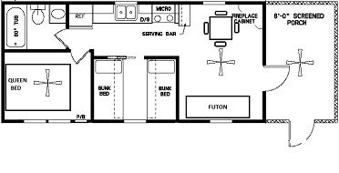 Yogi Bear Cottage Plan